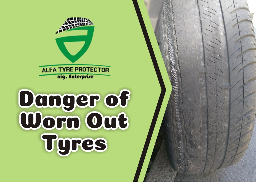 Danger of worn out tyres
