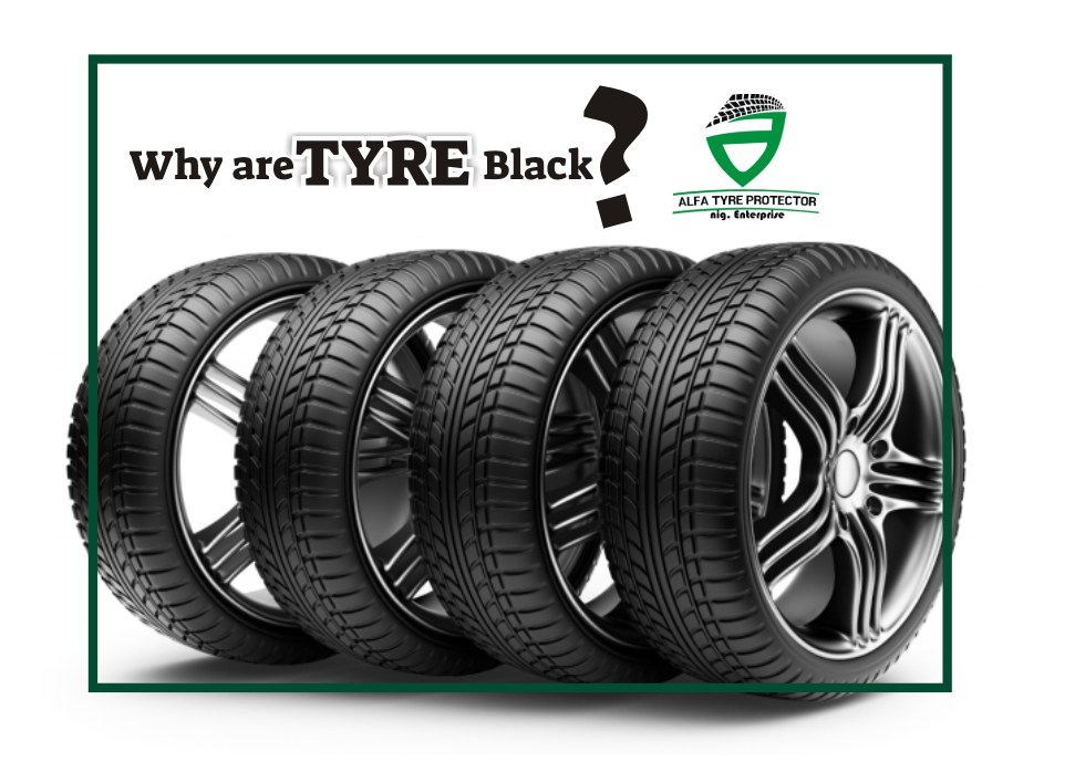 why are tyre black?