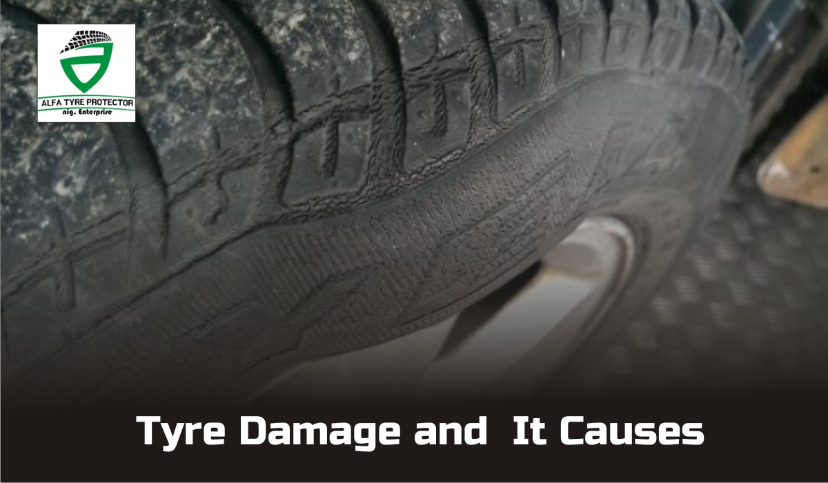 Tyre Damage and It Causes