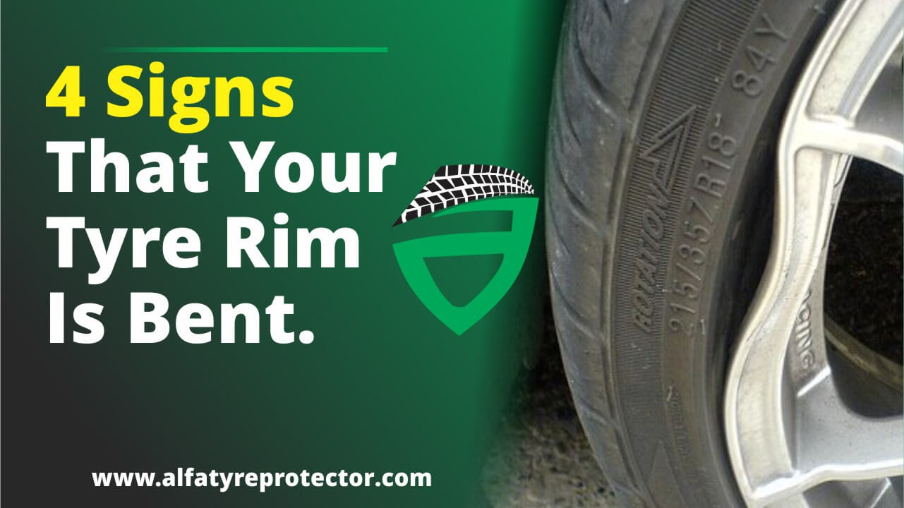 signs that your rim is bent