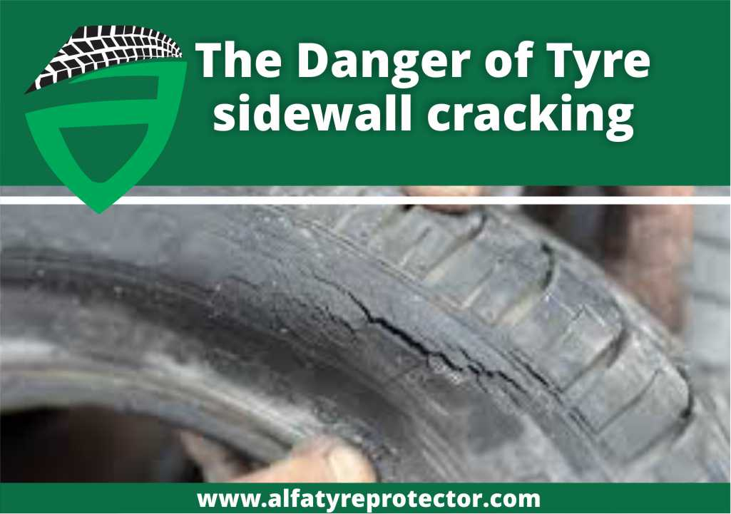 Tyre sidewall cracking