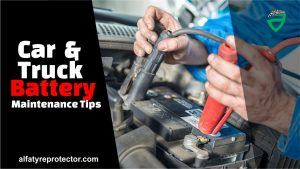 car and truck battery maintenance tips